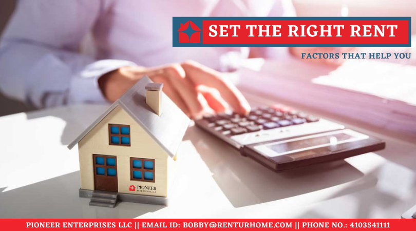 Factors That Help You to Set the Right Rent